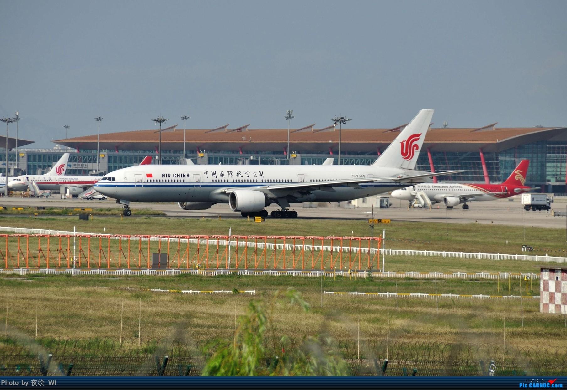 Re:[原创]【PEK】初刷八卦台,拍得飞起! BOEING 777-200 B-2065 中国北京首都国际机场