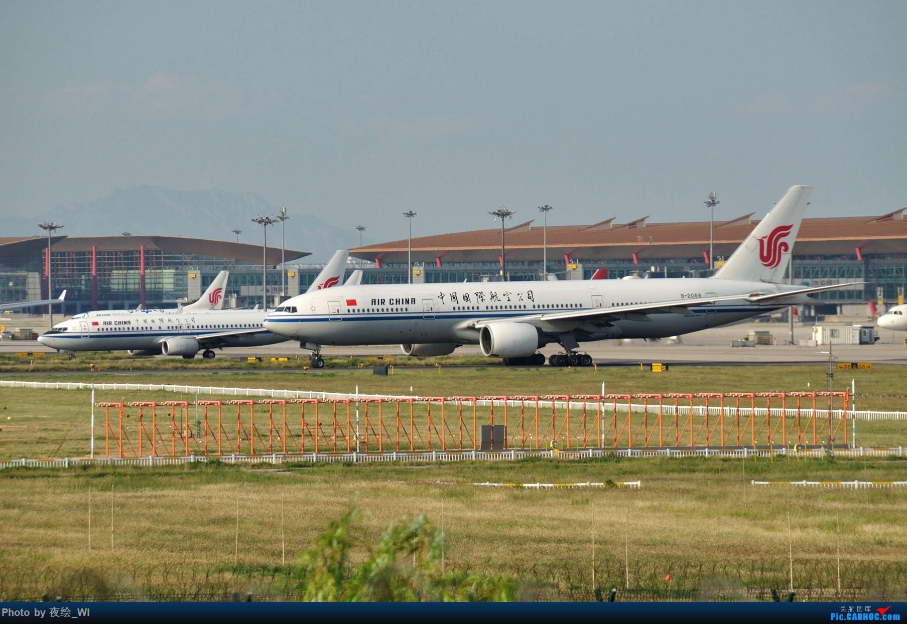 Re:[原创]【PEK】初刷八卦台,拍得飞起! BOEING 777-200 B-2068 中国北京首都国际机场