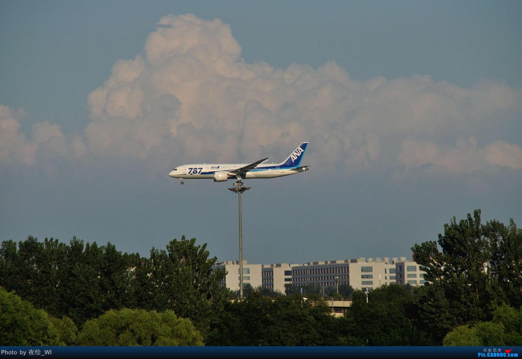 Re:[原创]【PEK】初刷八卦台,拍得飞起! BOEING 787-8 JA815A 中国北京首都国际机场
