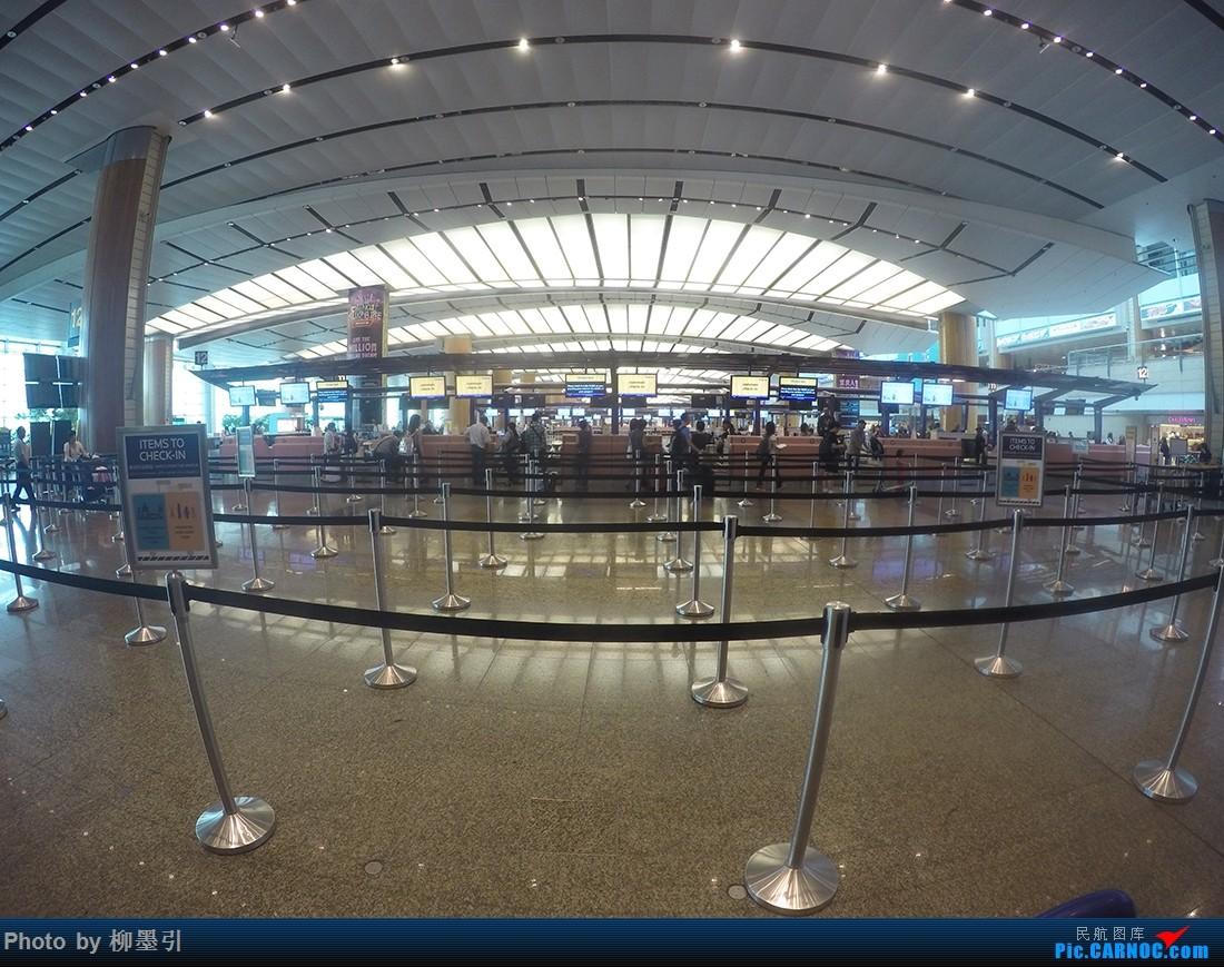 Re:[原创]我在台湾岛上画了个圈。SIN-TPE-XMN-HAK 三段飞行,三家航空,两段旅途,完美!    新加坡樟宜机场