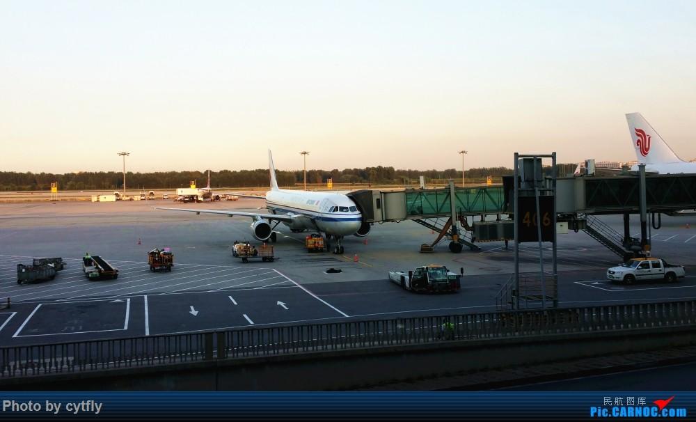 Re:[原创]南京-北京(航展之旅)疯狂的空铁联运【南京-虹桥-浦东-天津-北京】!!持续更新中!!第一次春秋+返程第一次投诉国航 AIRBUS A321-200 B-1876 中国北京首都国际机场