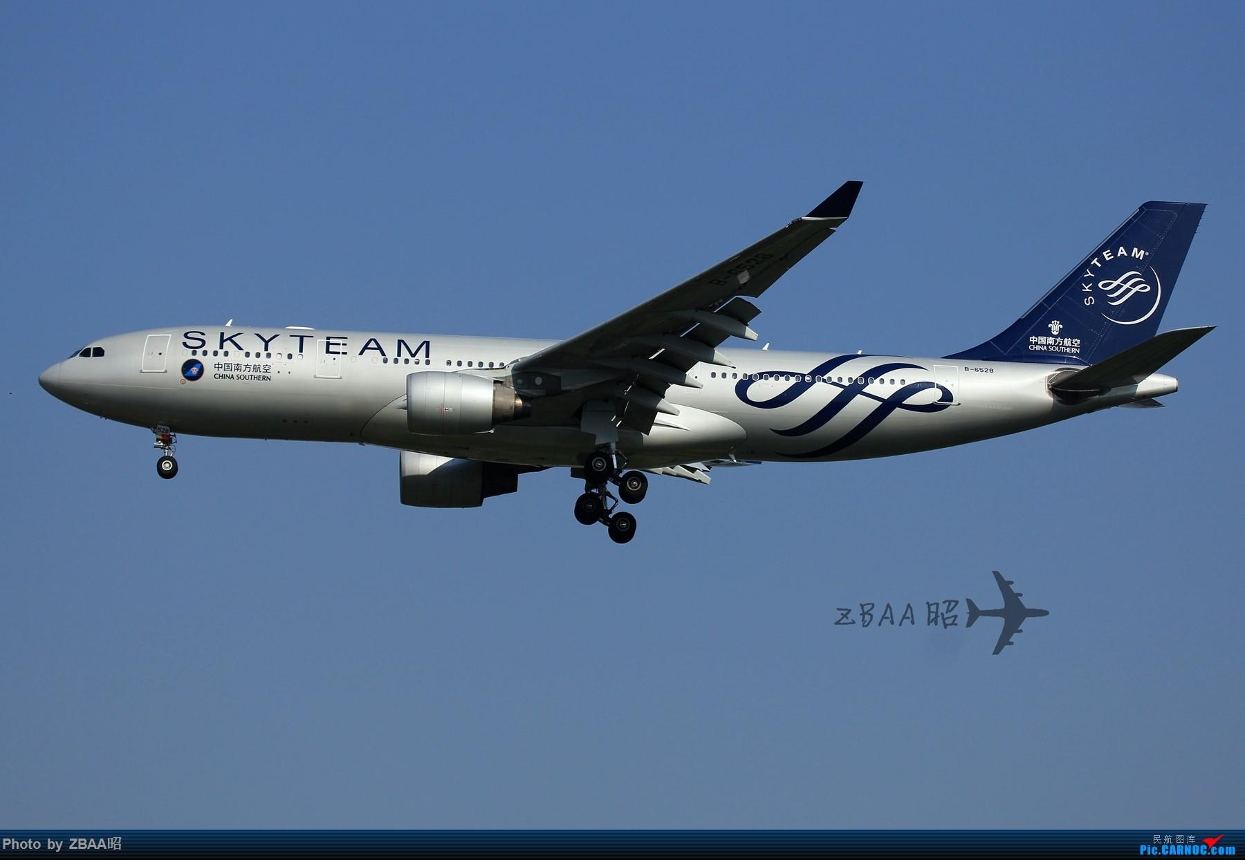 [原创]今日ZBAA 36R跑道接连三枚好货:南航天合 越南772 美联772星星 AIRBUS A330-200 B-6528 中国北京首都国际机场
