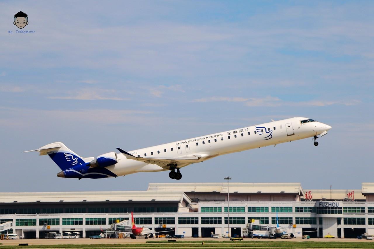 Re:【厦门飞友会】福州长乐机场随拍 BOMBARDIER CRJ900NG B-3366 中国福州长乐国际机场