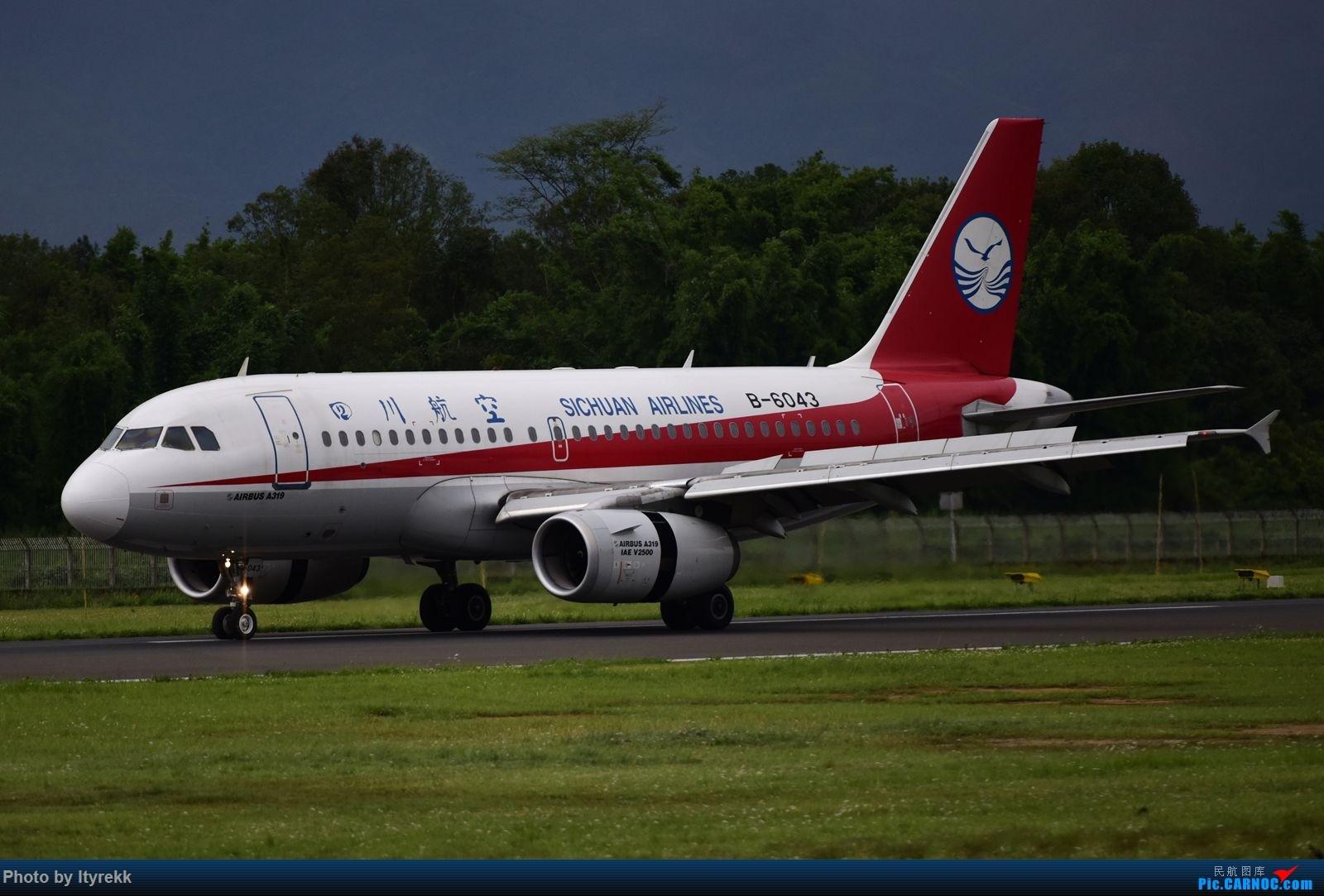 Re:[原创]怀念暑假时飞友们在一起拍机的日子 AIRBUS A319-100 B-6043 中国芒市机场
