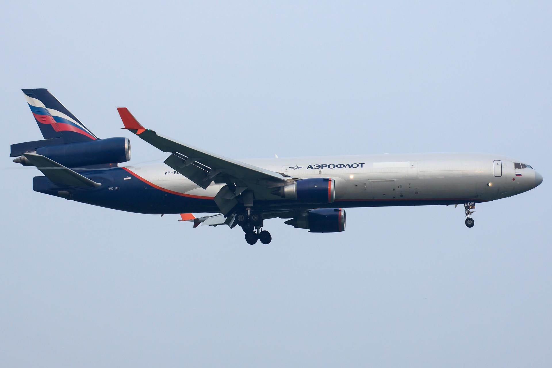 [一图党] Aeroflot MD11F VP-BDP 1920*1280 MCDONNELL DOUGLAS MD-11F VP-BDP 中国北京首都国际机场