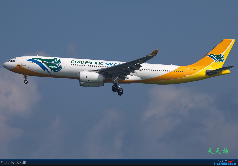 [原创]菲律宾宿务航空330菲律宾航空330印度捷特航空公司330都飞香港机场 AIRBUS A330 RP-C3342 中国香港国际机场