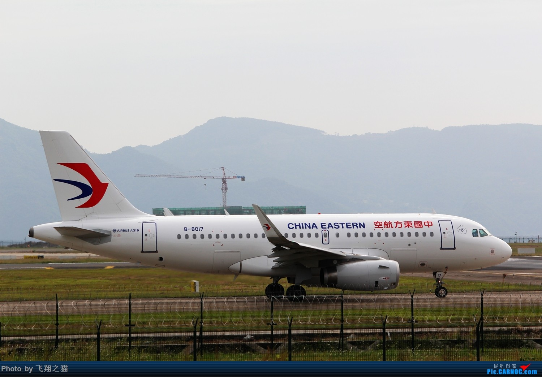 Re:[原创]CKG拍机(国庆拍机) AIRBUS A319 B-8017 重庆江北国际机场