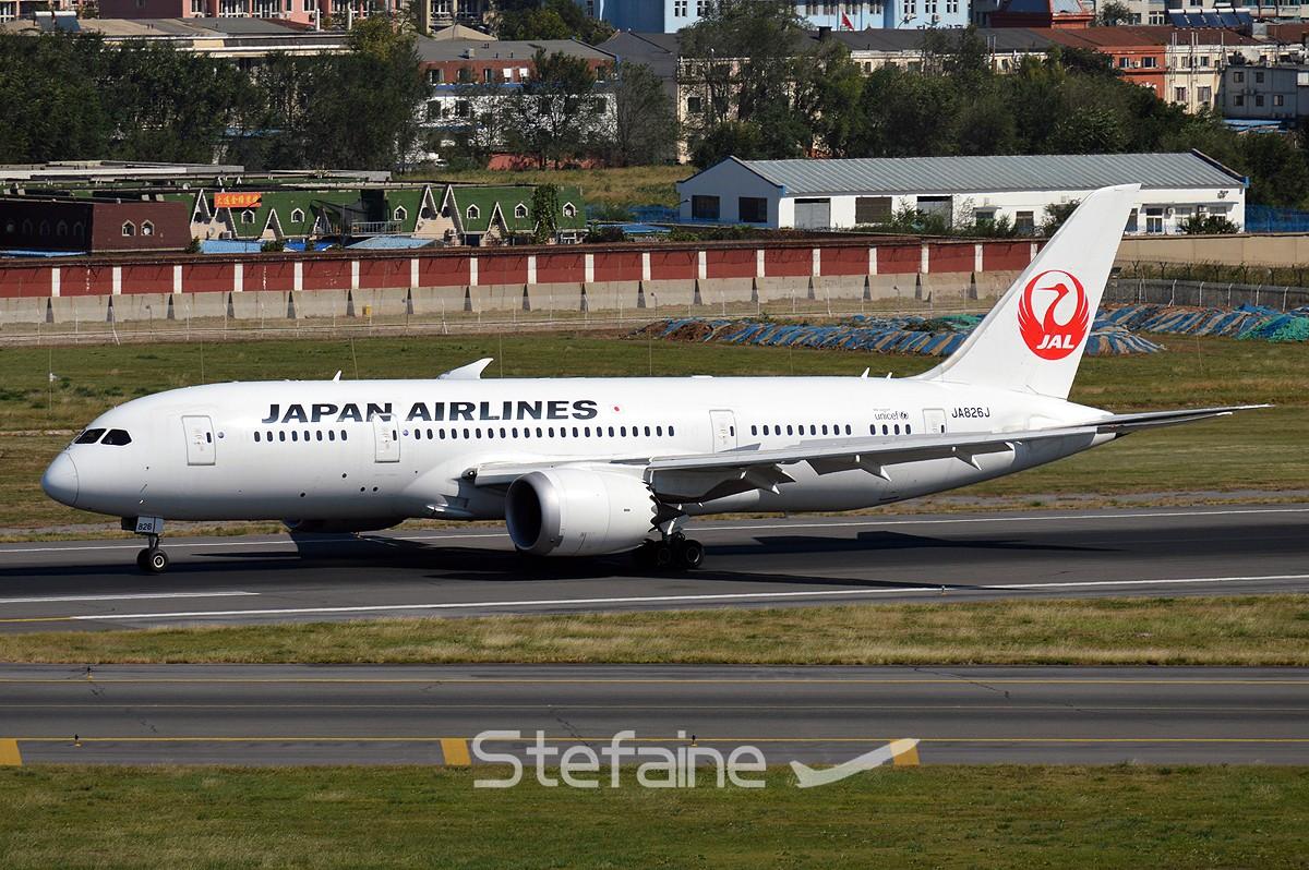 [DLC]岛国宽体包场 BOEING 787-8 JA826J 中国大连国际机场