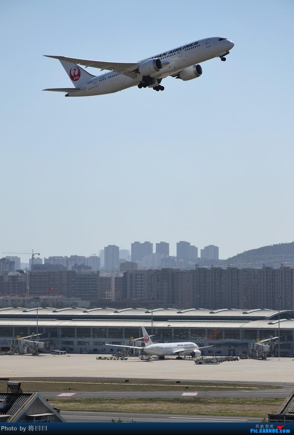 [原创][DLC]难得两架787    中国大连国际机场