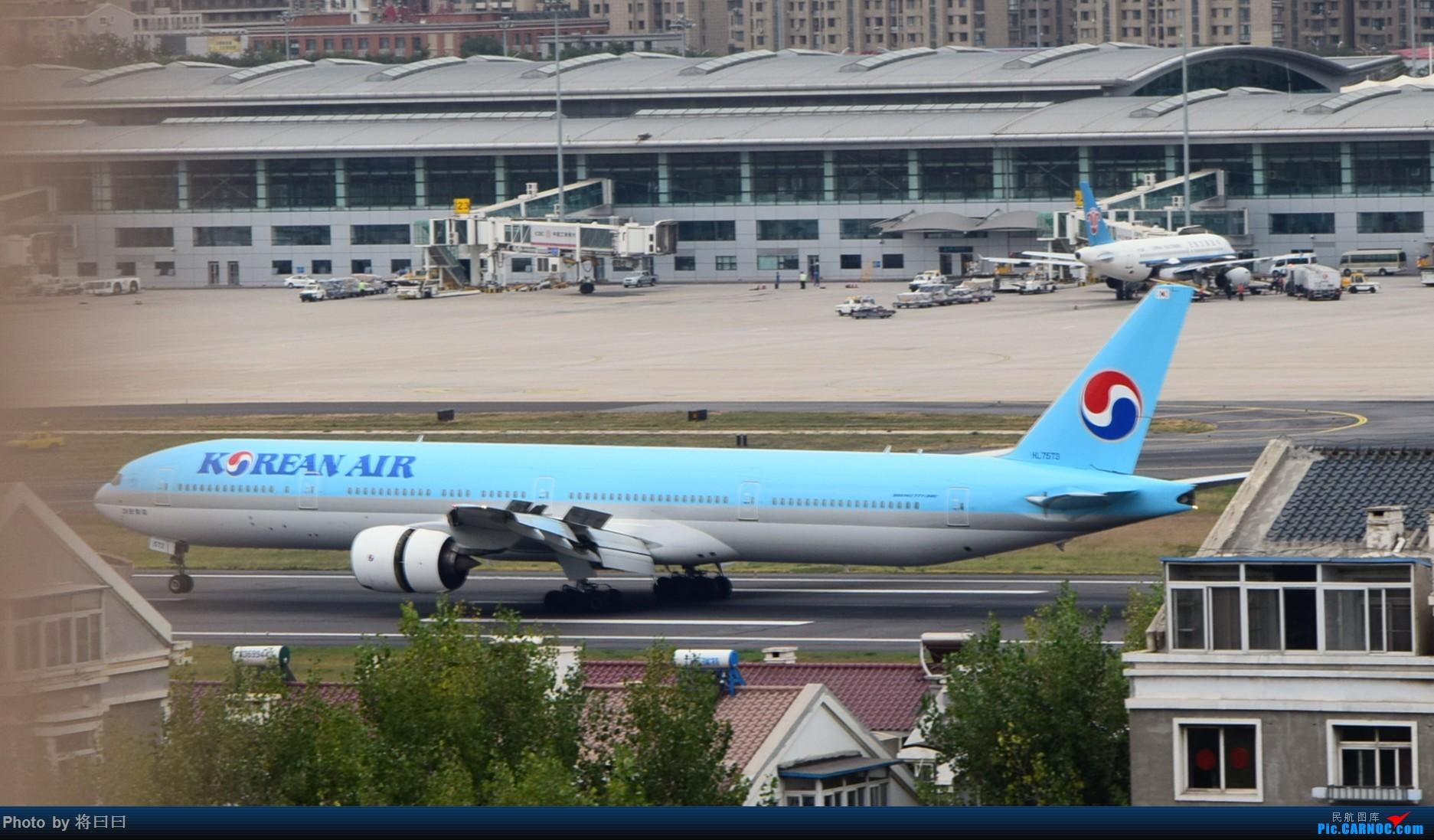 Re:[原创][DLC]难得两架787    中国大连国际机场