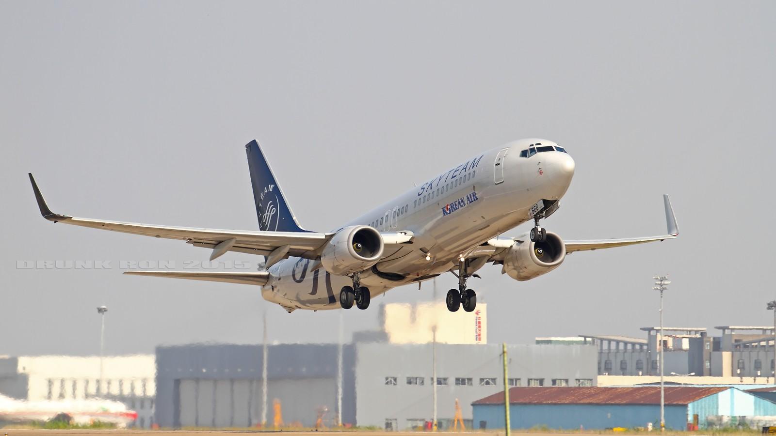 [原创]NKG~这家伙来了很多次但现在才是首发啊~ BOEING 737-800 HL7568 中国南京禄口国际机场