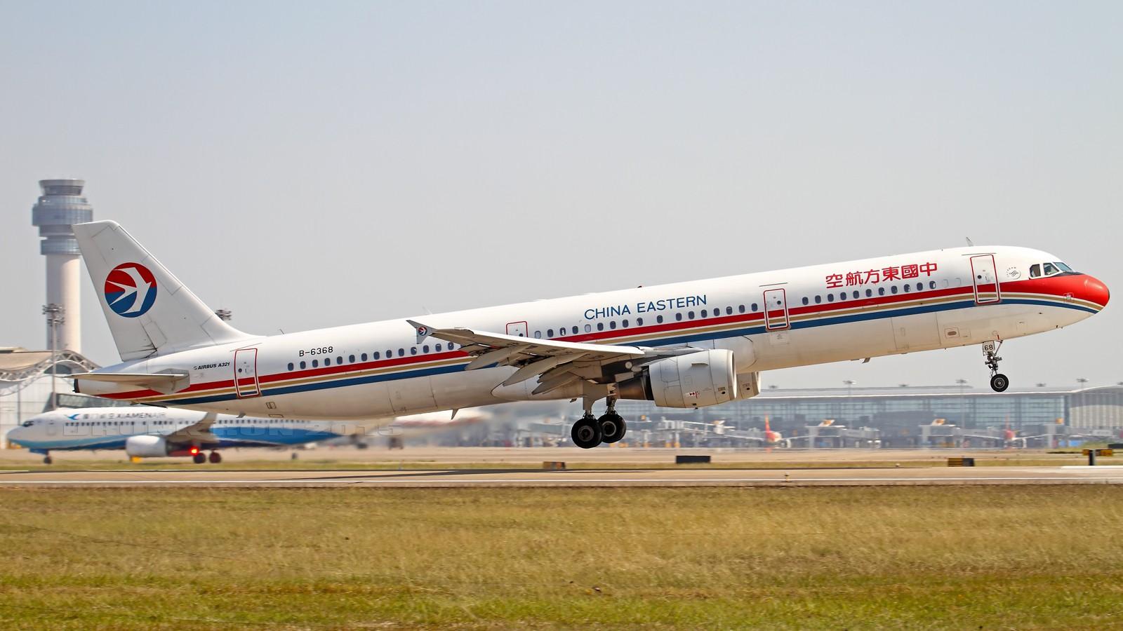 Re:[原创]NKG~这家伙来了很多次但现在才是首发啊~ AIRBUS A321-200 B-6368 中国南京禄口国际机场