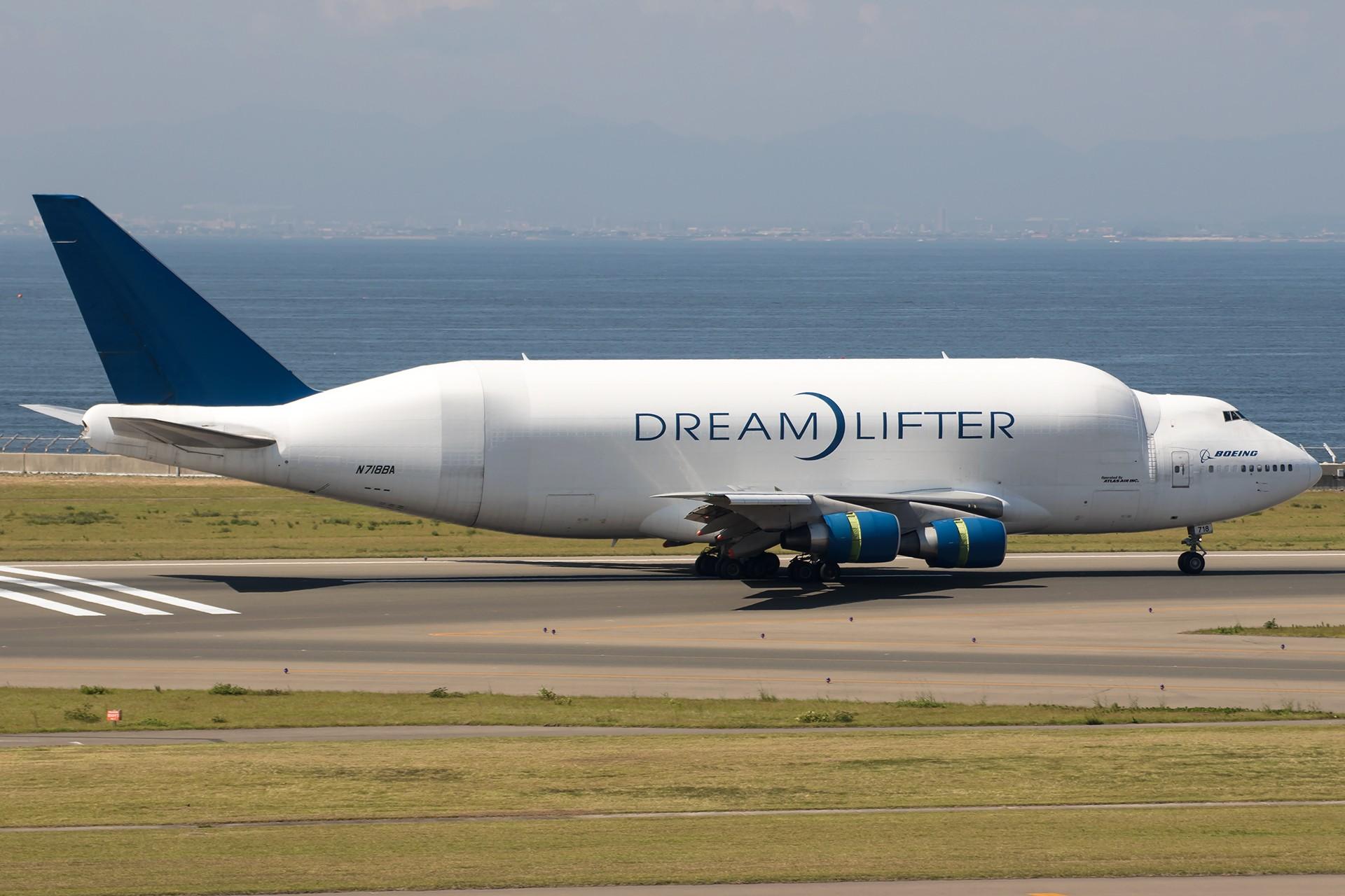 Re:[原创]【1920/1800】魅力名古屋,魅力新特里亚。——名古屋拍机组图(1) BOEING 747-4H6(LCF) DREAMLIFTER N718BA 日本名古屋中部/新特丽亚机场