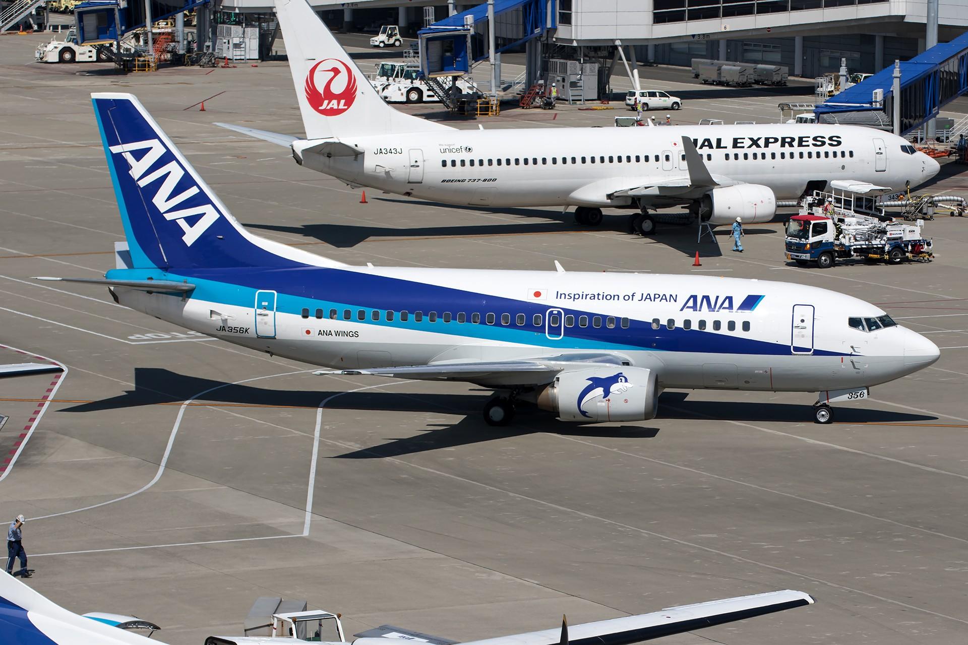 Re:[原创]【1920/1800】魅力名古屋,魅力新特里亚。——名古屋拍机组图(1) BOEING 737-500 JA356K 日本名古屋中部/新特丽亚机场
