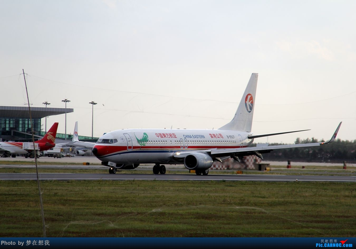 Re:[原创]十月二号高中党坐动车从丹东到沈阳拍机SHE BOEING 737-800 B-5527 中国沈阳桃仙国际机场