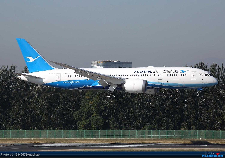 [原创]PEK格林豪泰首发,乱七八糟一堆。 BOEING 787-8 B-2763 北京首都机场