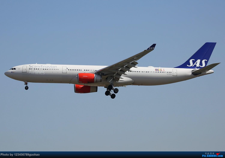 一图党-北欧333 AIRBUS A330-300 LN-RKN 北京首都机场