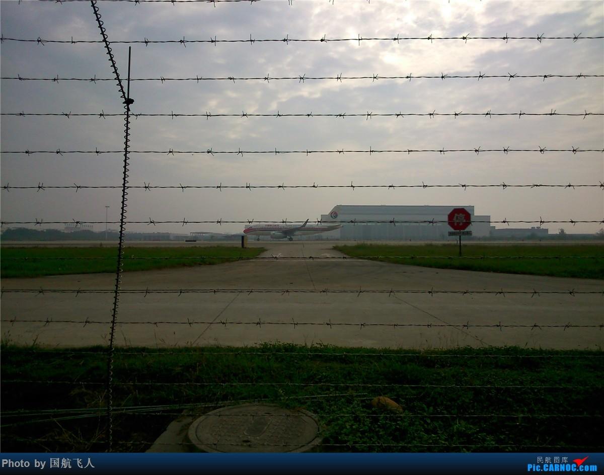 Re:[原创]10月7日CTU拍机[有南航A380】手机拍摄 AIRBUS A319-100  中国成都双流国际机场