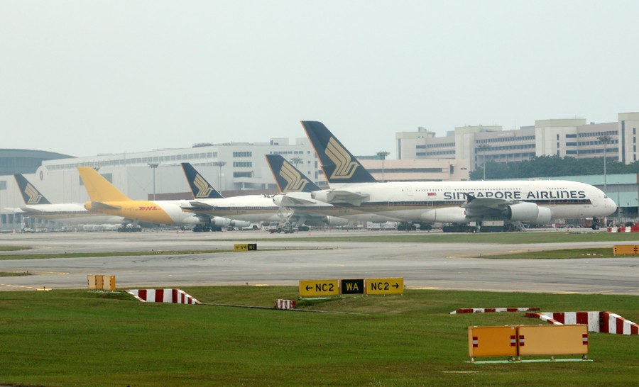 Re:[原创]樟宜机场随拍    新加坡樟宜机场