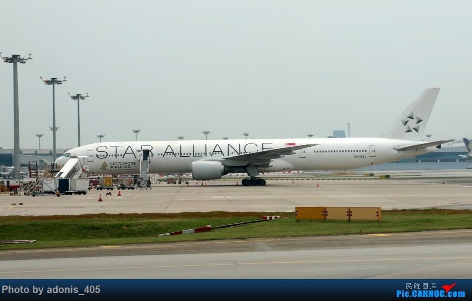 Re:[原创]樟宜机场随拍 B777 9V-SYL 新加坡樟宜机场