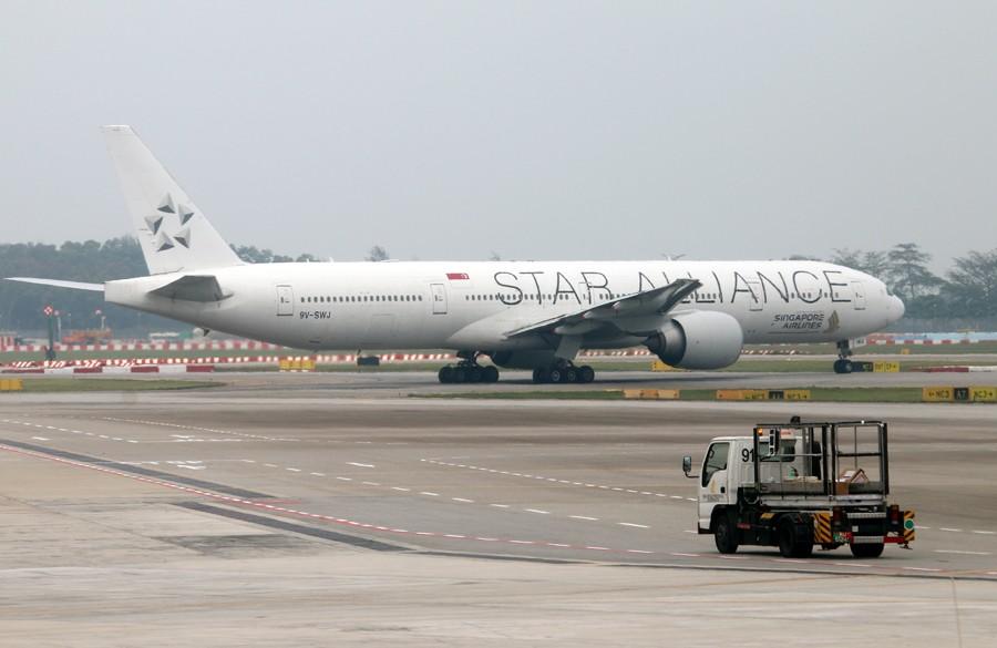 Re:[原创]樟宜机场随拍 B777 9V-SWJ 新加坡樟宜机场