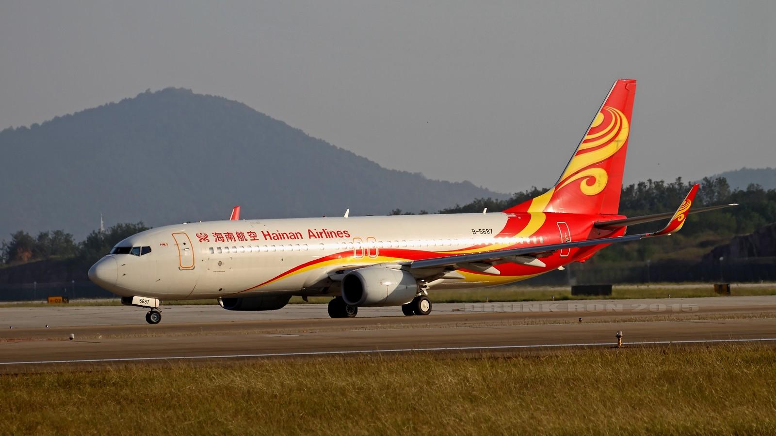Re:[原创]NKG~好天气的NKG招牌角度 BOEING 737-800 B-5687 中国南京禄口国际机场