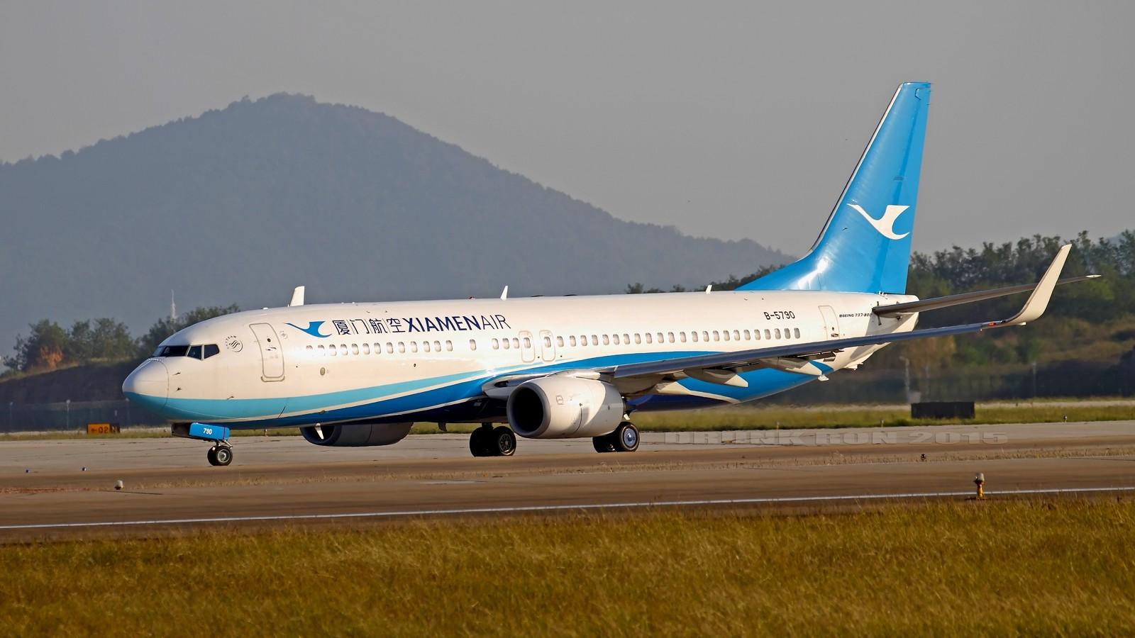 Re:[原创]NKG~好天气的NKG招牌角度 BOEING 737-800 B-5790 中国南京禄口国际机场