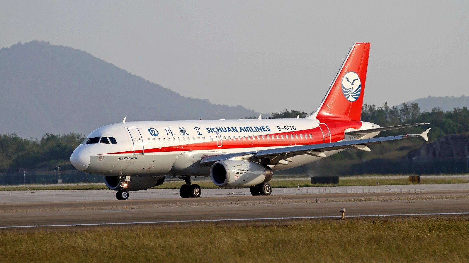 Re:[原创]NKG~好天气的NKG招牌角度 AIRBUS A319-100 B-6176 中国南京禄口国际机场