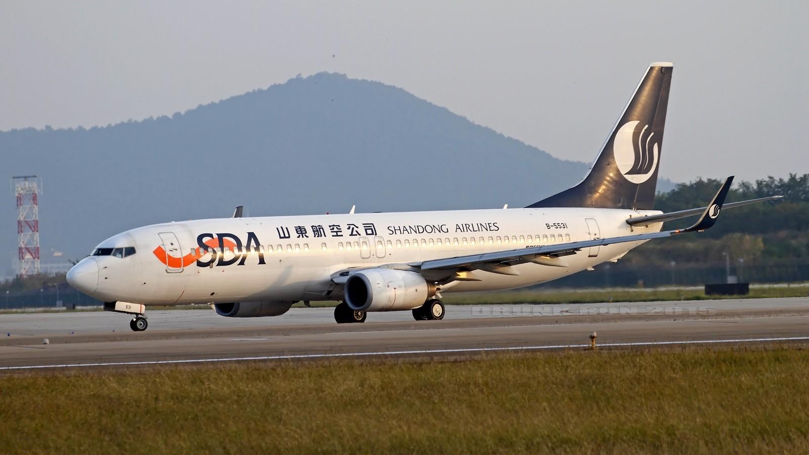Re:[原创]NKG~好天气的NKG招牌角度 BOEING 737-800 B-5531 中国南京禄口国际机场
