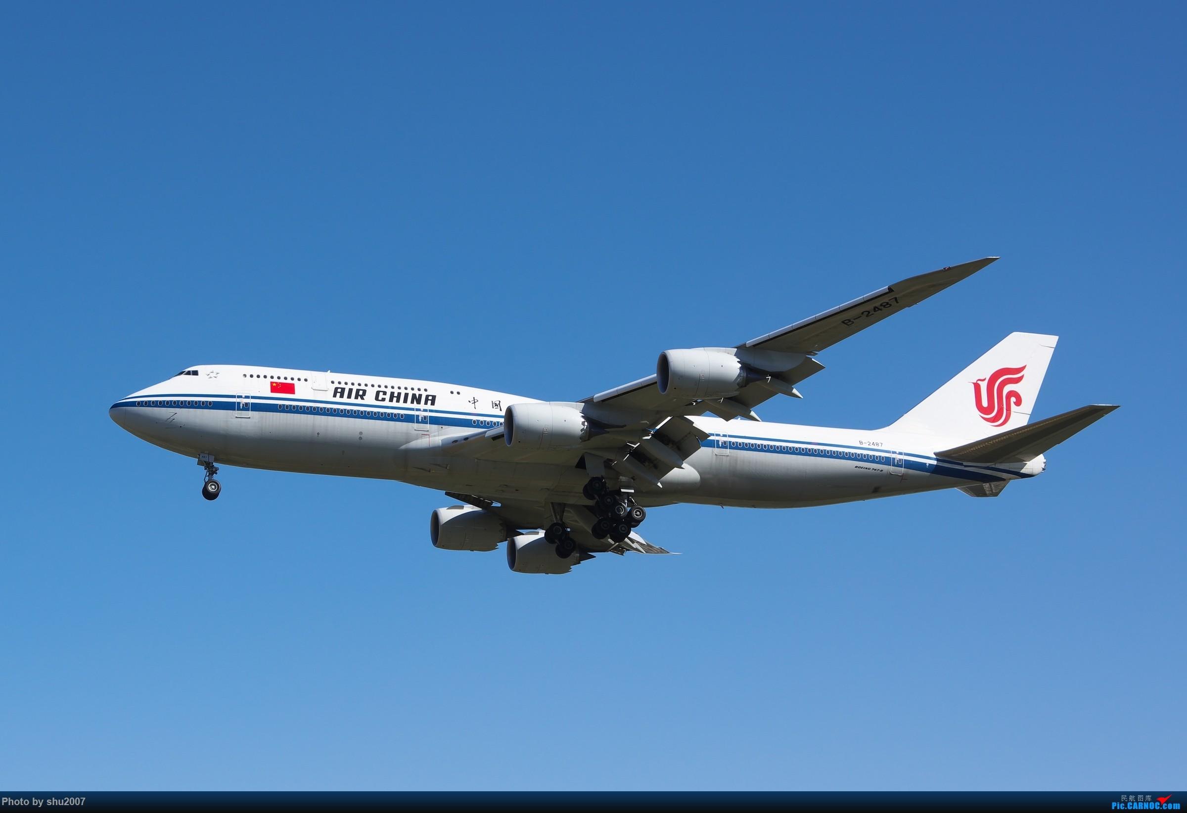 Re:[原创]雾霾过后难得的好天气 BOEING 747-8I B-2487 中国北京首都国际机场