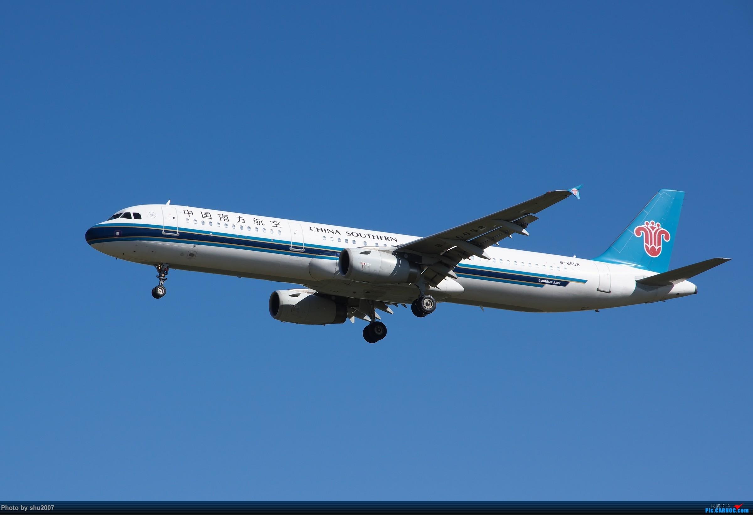Re:[原创]雾霾过后难得的好天气 AIRBUS A321-200 B-6658 中国北京首都国际机场