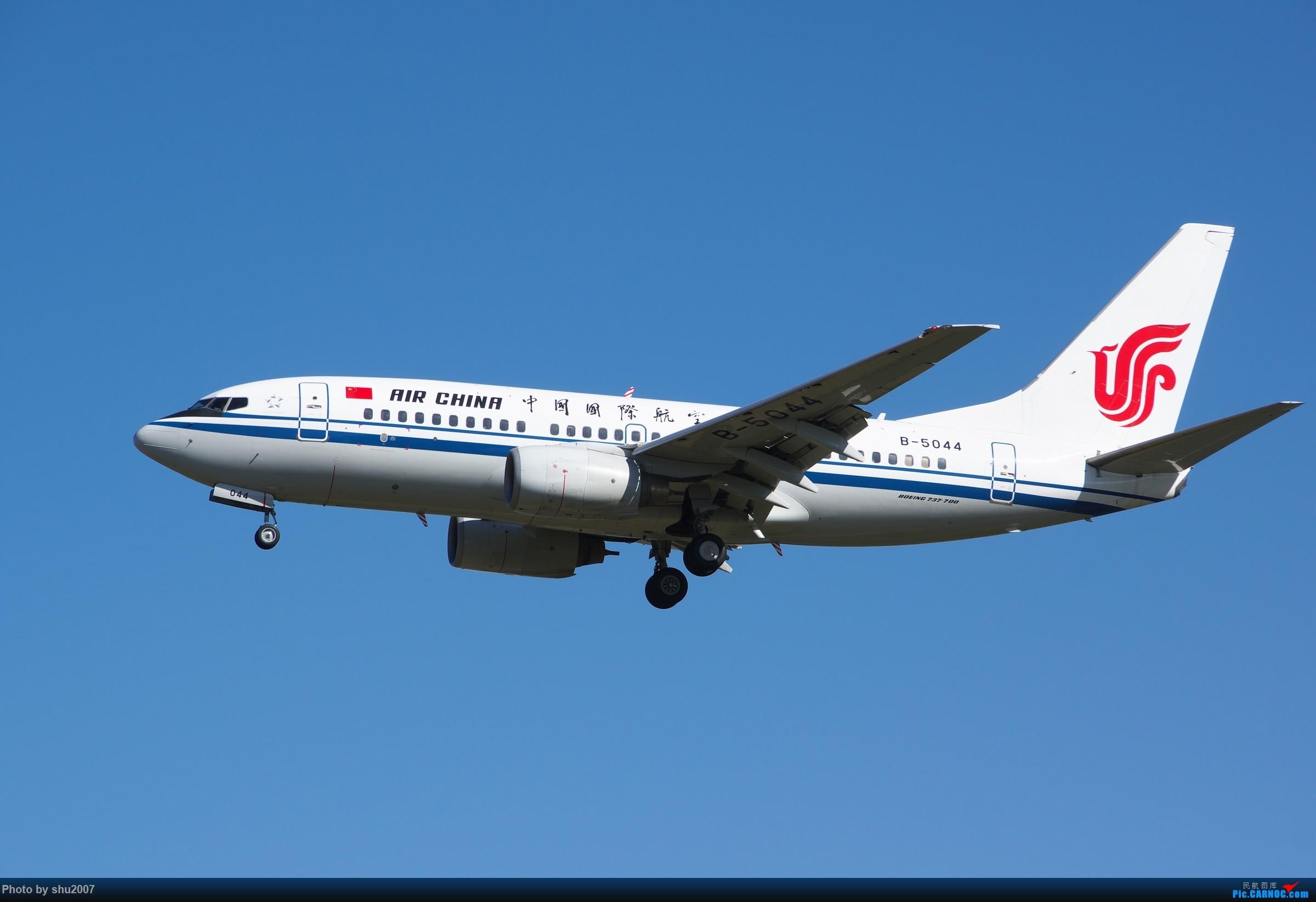Re:[原创]雾霾过后难得的好天气 BOEING 737-700 B-5044 中国北京首都国际机场