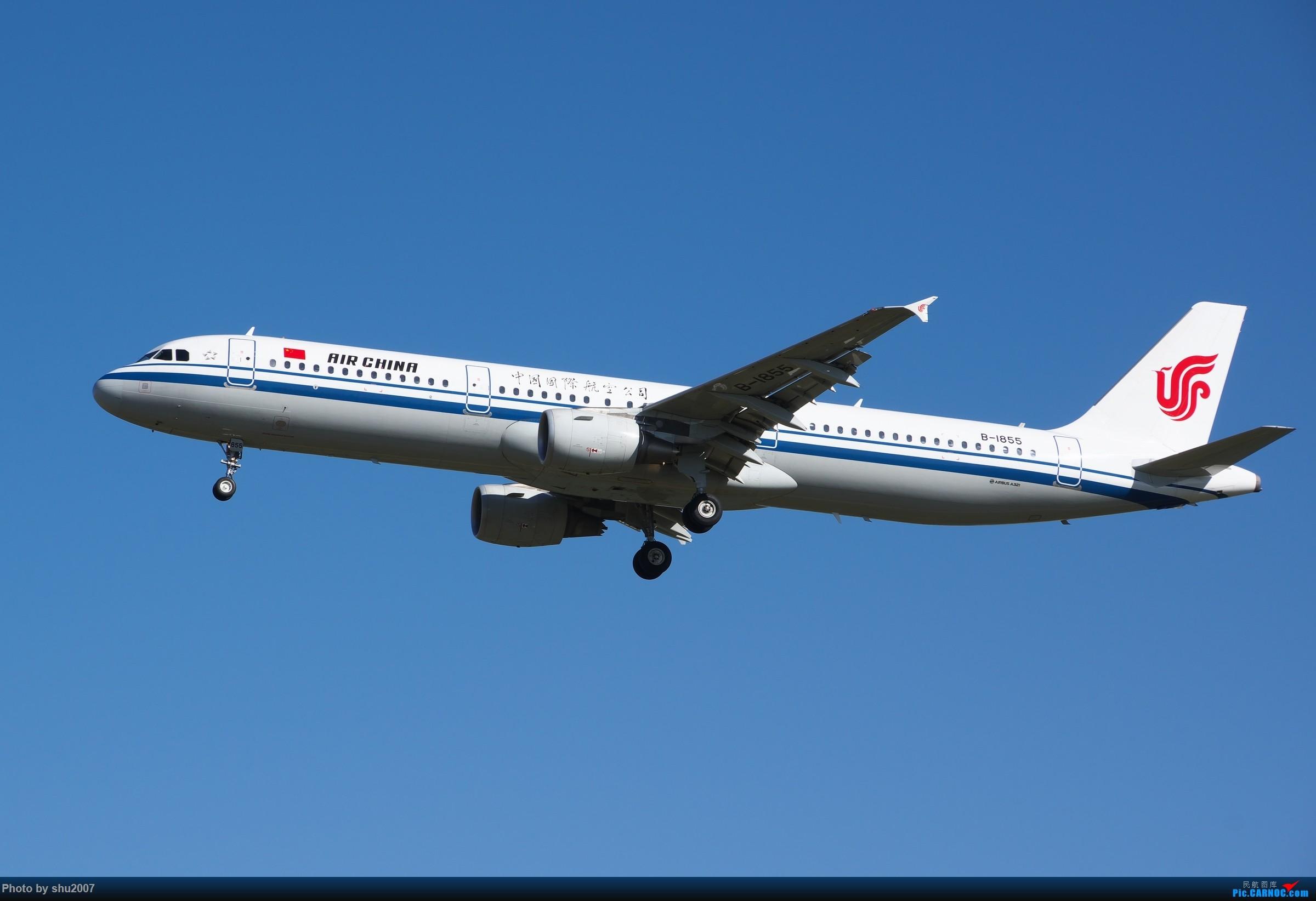 Re:[原创]雾霾过后难得的好天气 AIRBUS A321-200 B-1855 中国北京首都国际机场