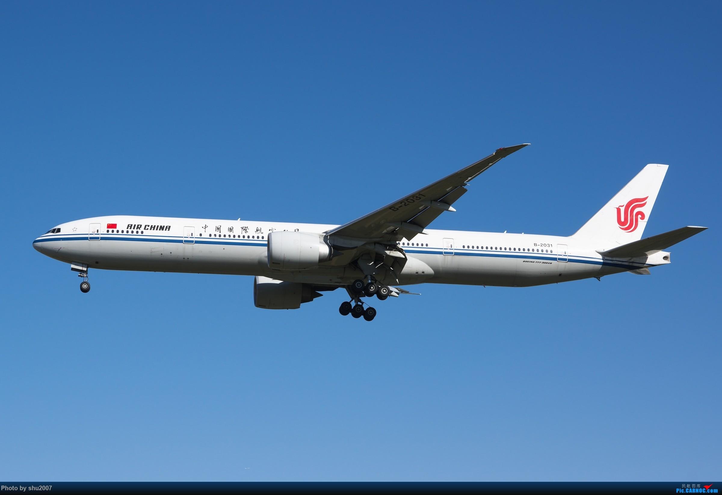 Re:[原创]雾霾过后难得的好天气 BOEING 777-300ER B-2031 中国北京首都国际机场