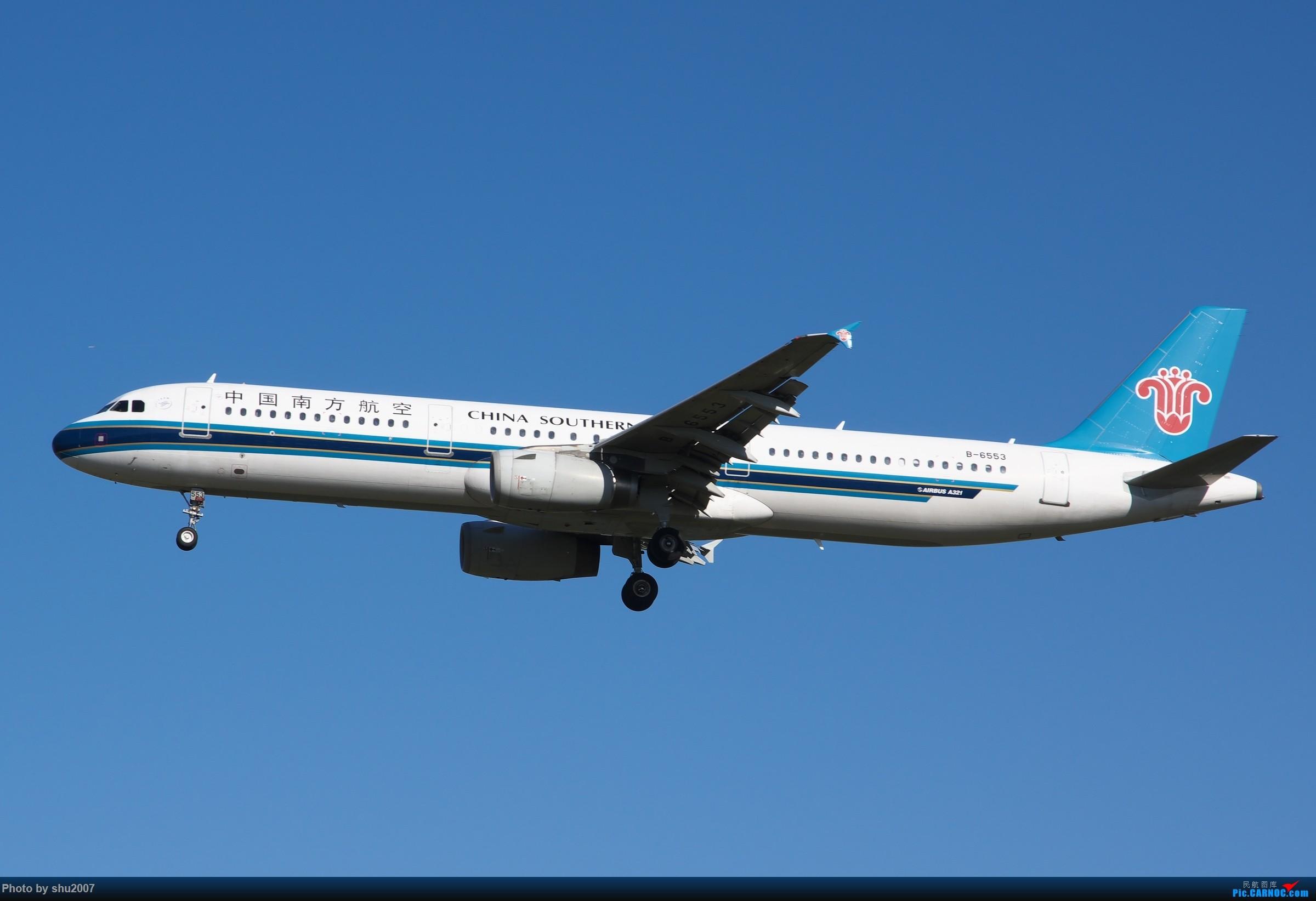 Re:[原创]雾霾过后难得的好天气 AIRBUS A321-200 B-6553 中国北京首都国际机场