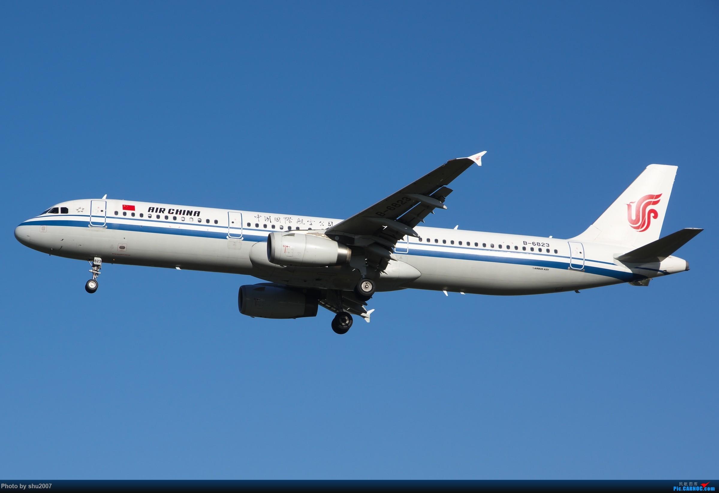 Re:[原创]雾霾过后难得的好天气 AIRBUS A321-200 B-6823 中国北京首都国际机场
