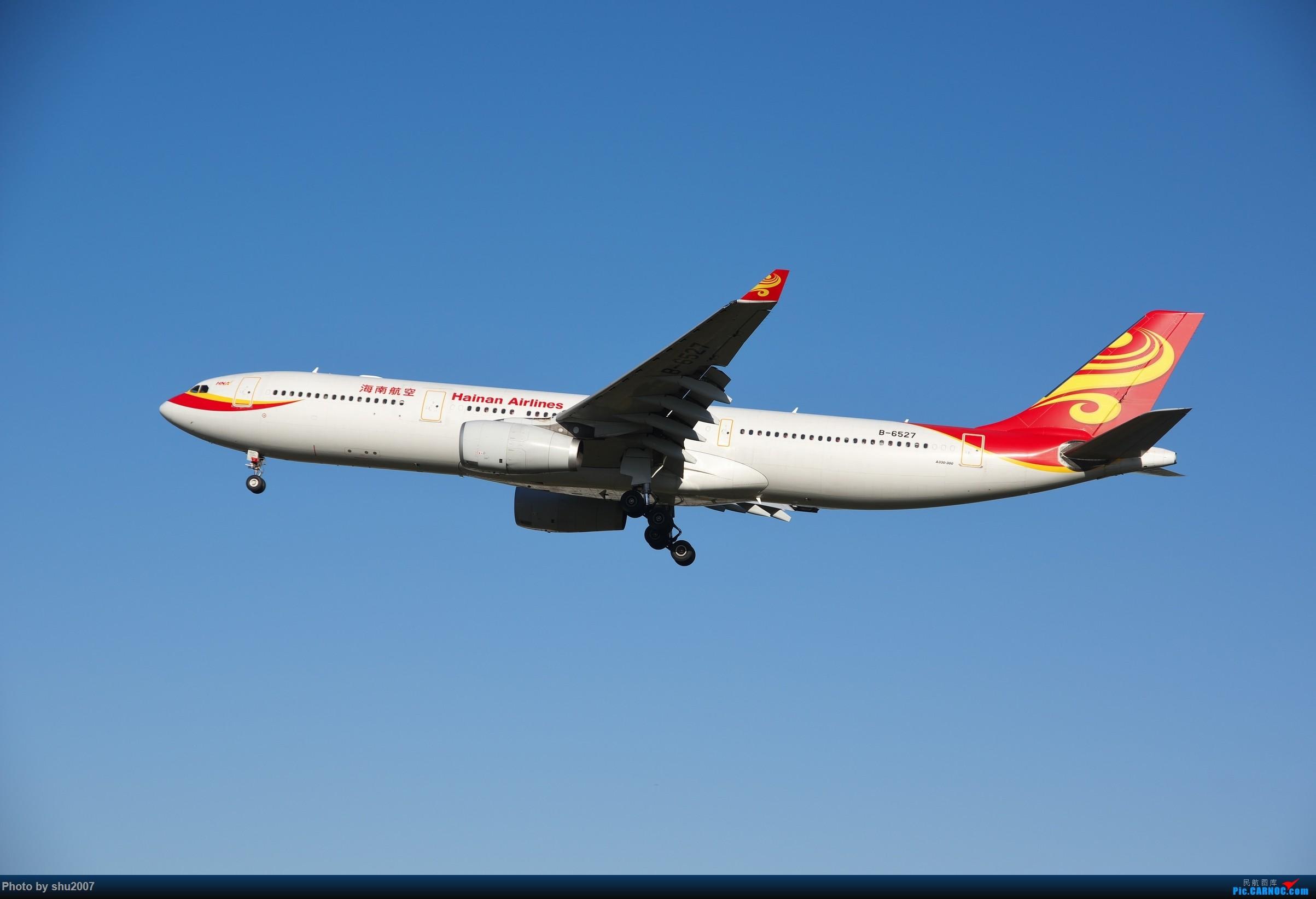 Re:[原创]雾霾过后难得的好天气 AIRBUS A330-300 B-6527 中国北京首都国际机场