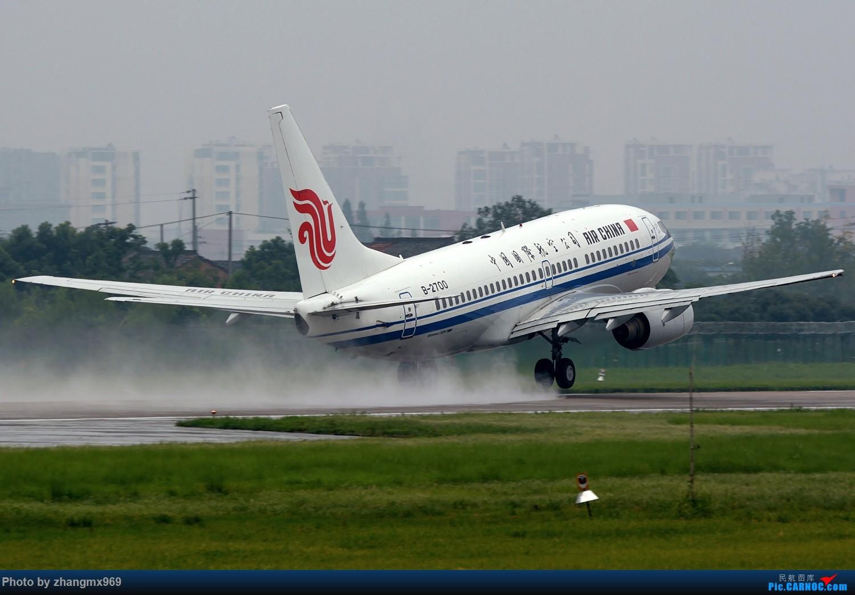 [原创]烂天没好货,宁波栎社随拍 BOEING 737-700 B-2700 中国宁波栎社国际机场