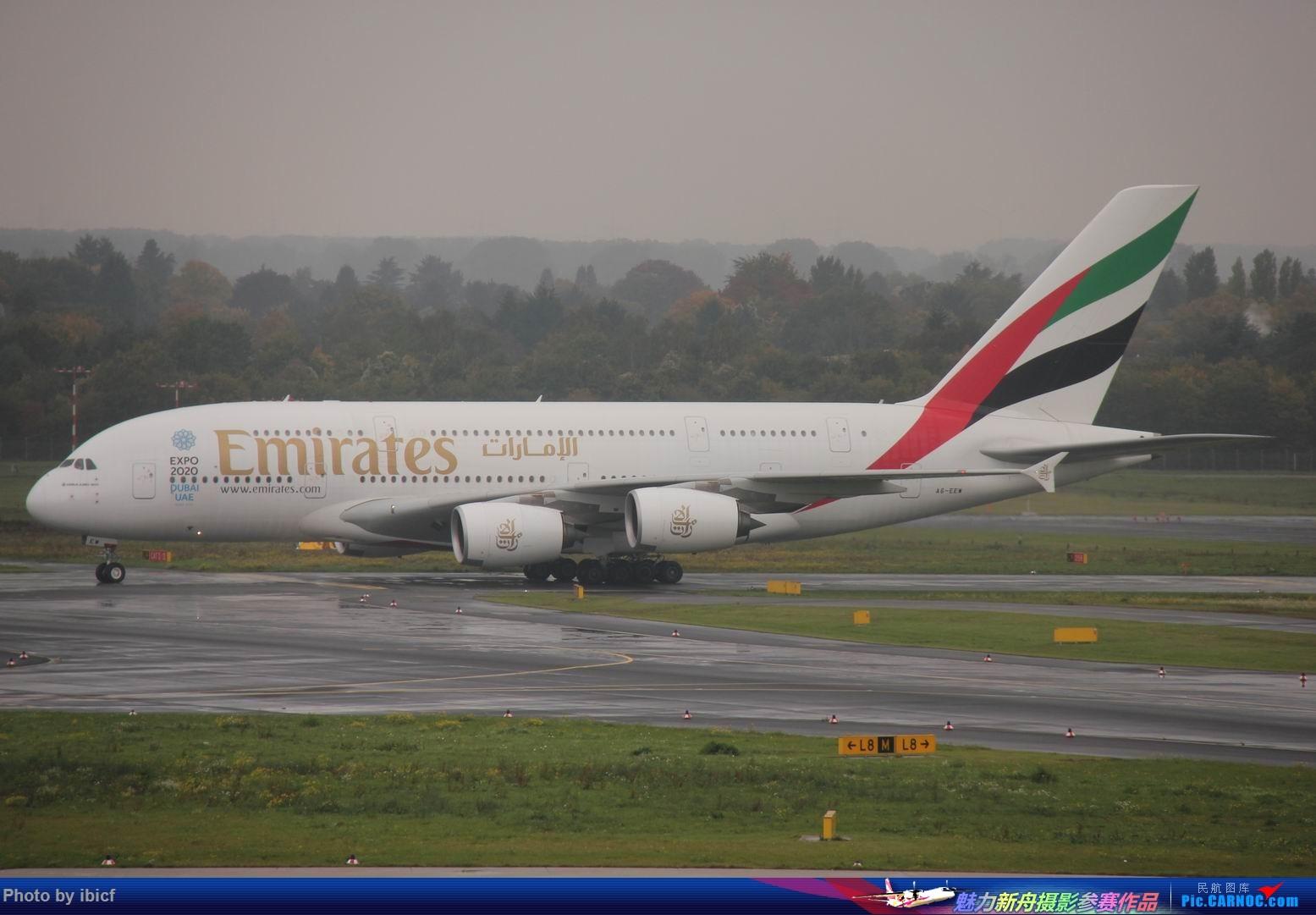 [原创]国庆杜塞拍机 AIRBUS A380-800 A6-EEW DUS