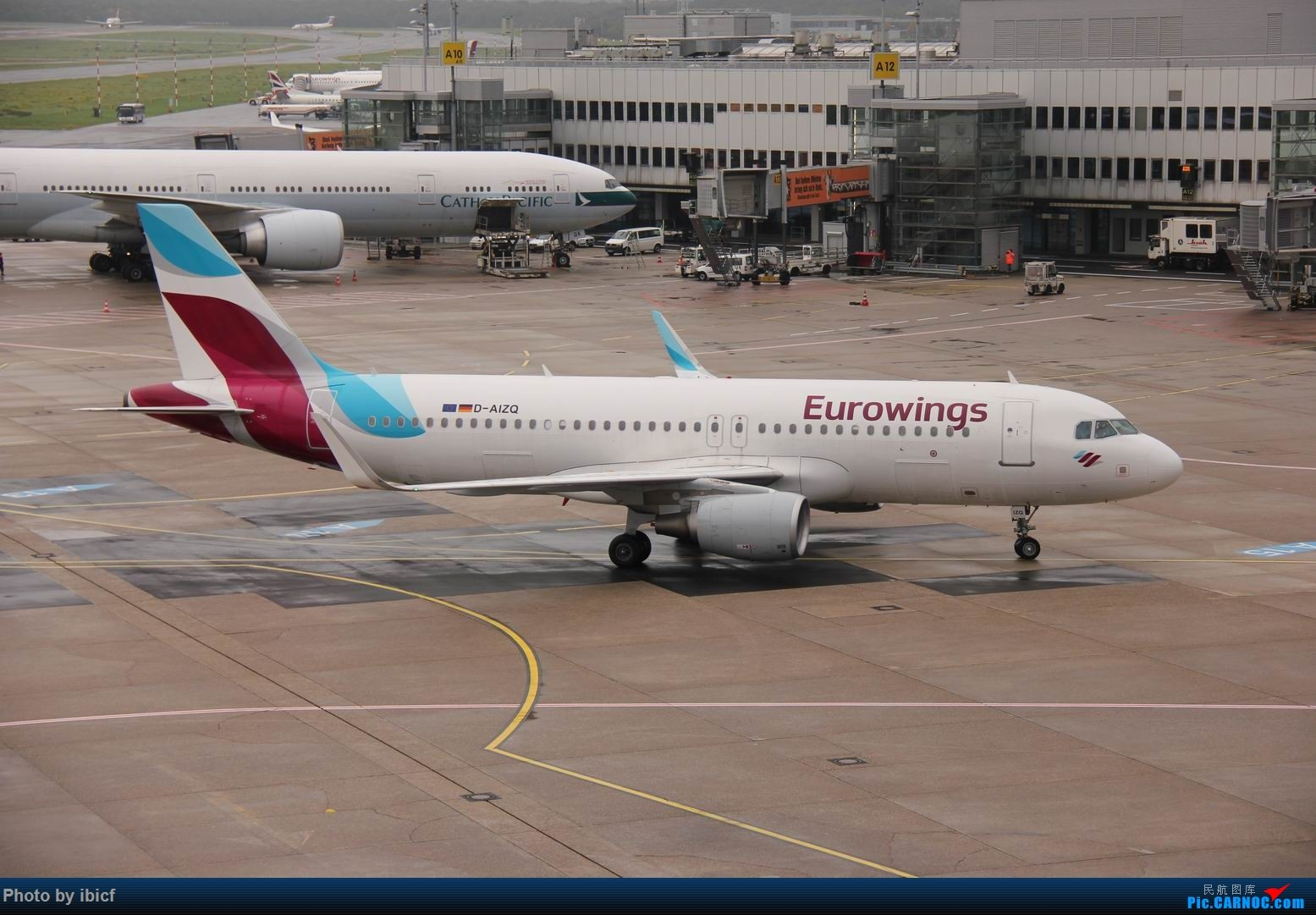 Re:[原创]国庆杜塞拍机 AIRBUS A320-200 D-AIZQ DUS
