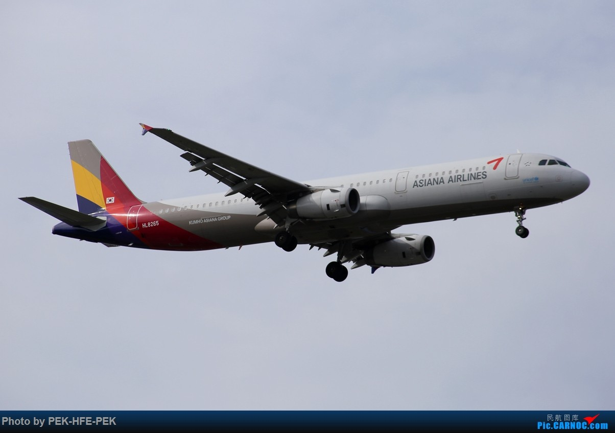 Re:[原创][AutumnKwok]很久没发图了,昨天在PEK垃圾站一组,好天气。 AIRBUS A321 HL8265 pek