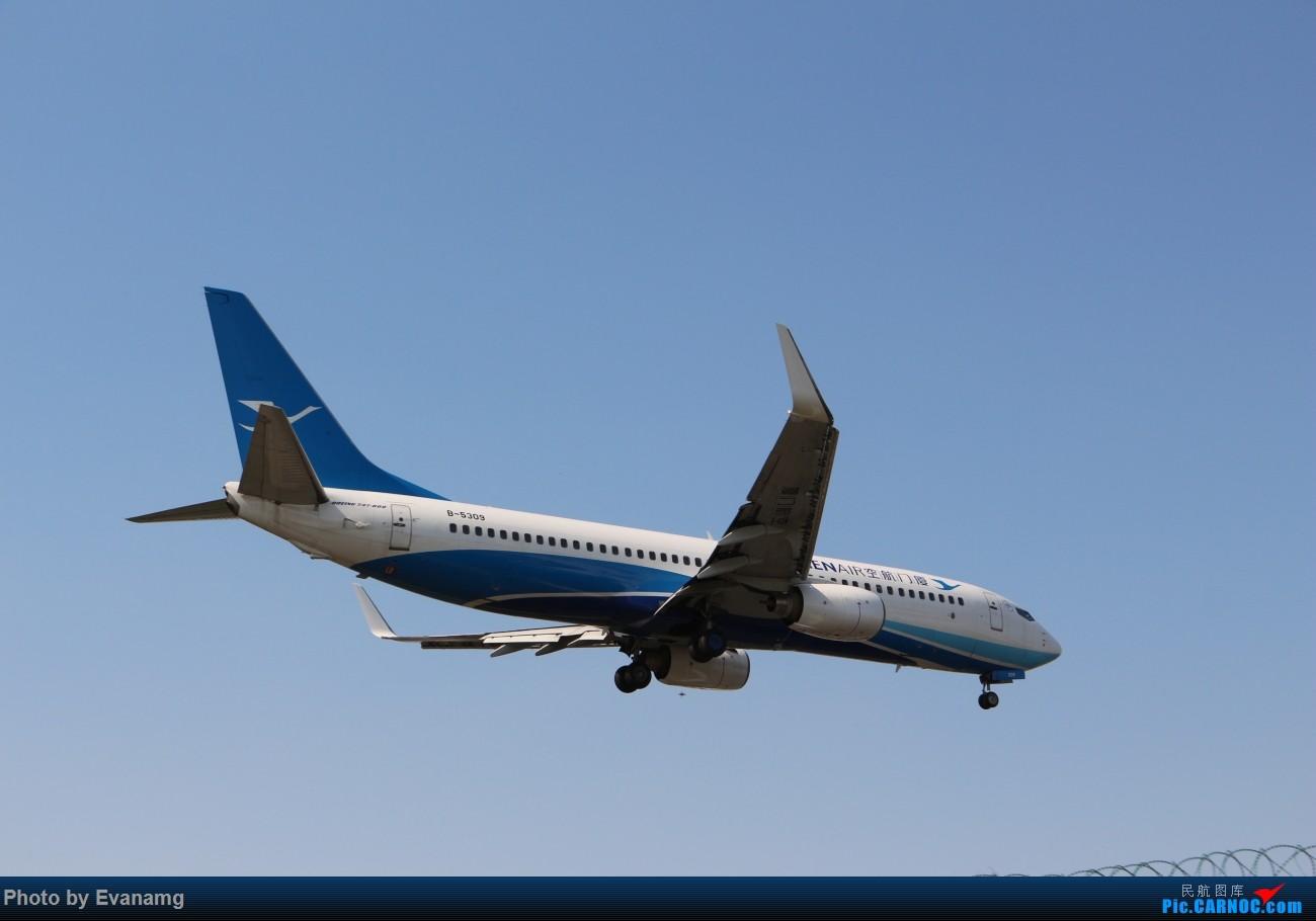 Re:[原创]Evan-分享厦门航空图一组 BOEING 737-800 B-5309 中国厦门高崎国际机场