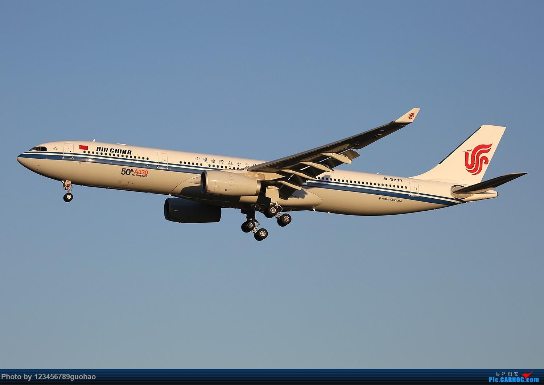 [原创]一图党-国航50th/A330 AIRBUS A330-300 B-5977 北京首都机场