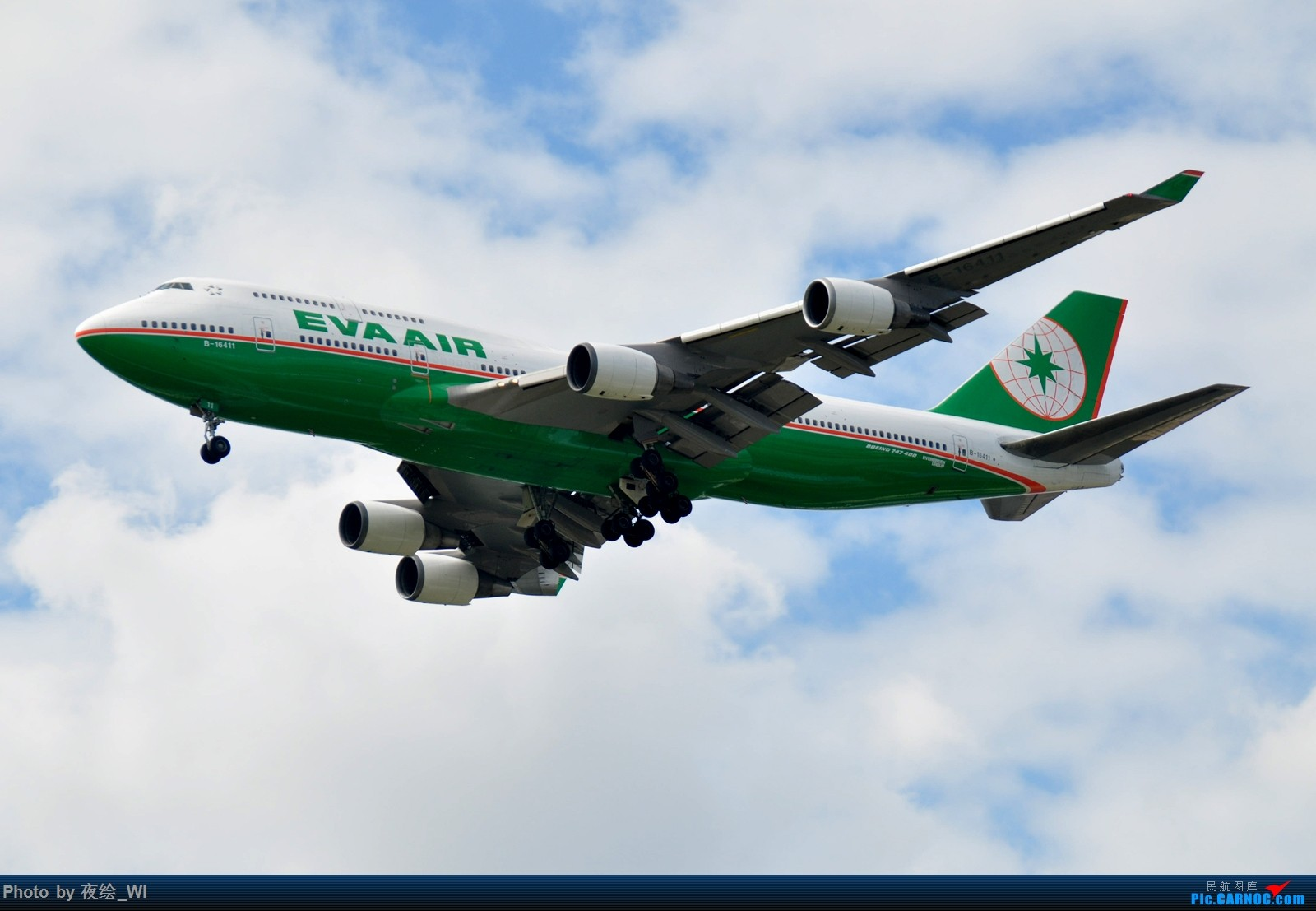 Re:[原创]【PVG】不只守着NKG,国庆疯狂拍机之浦东行,天空美得简直不像话! BOEING 747-400 B-16411 中国上海浦东国际机场