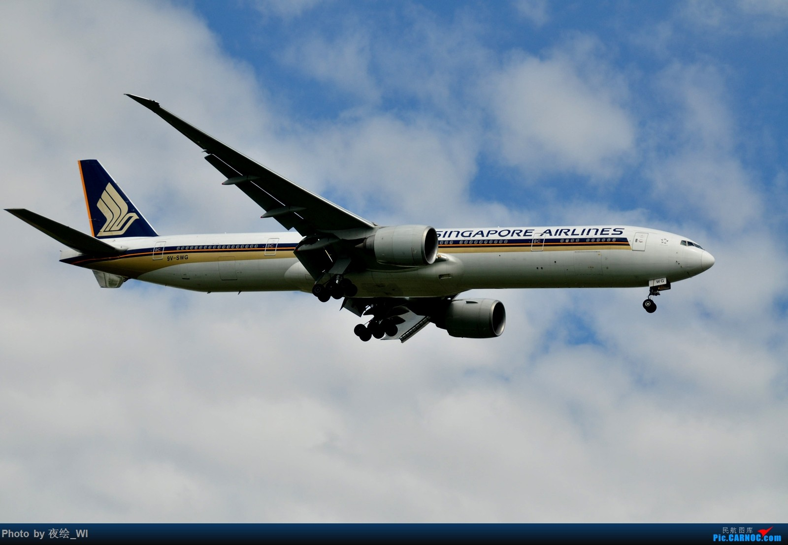 Re:[原创]【PVG】不只守着NKG,国庆疯狂拍机之浦东行,天空美得简直不像话! BOEING 777-300ER 9V-SWG 中国上海浦东国际机场