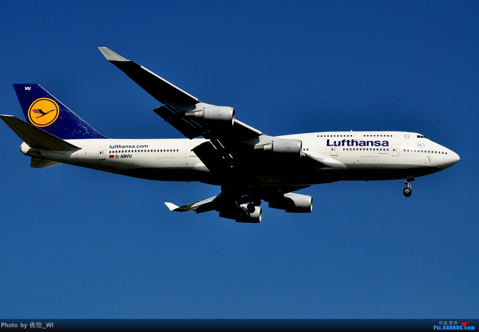 Re:[原创]【PVG】不只守着NKG,国庆疯狂拍机之浦东行,天空美得简直不像话! BOEING 747-400 D-ABVW 中国上海浦东国际机场