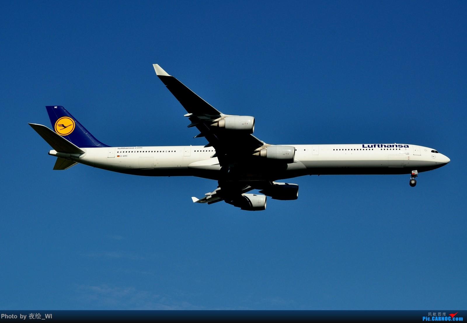 Re:[原创]【PVG】不只守着NKG,国庆疯狂拍机之浦东行,天空美得简直不像话! AIRBUS A340-600 D-AIHC 中国上海浦东国际机场