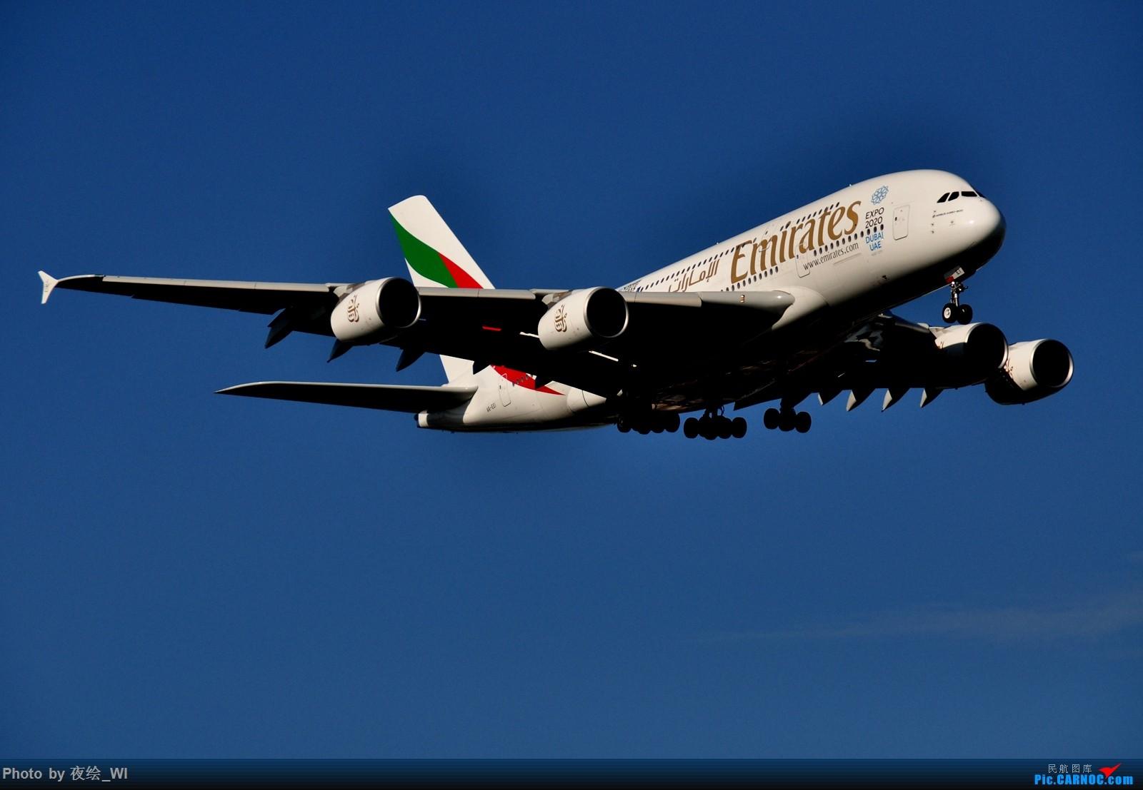 Re:[原创]【PVG】不只守着NKG,国庆疯狂拍机之浦东行,天空美得简直不像话! AIRBUS A380-800 A6-EEI 中国上海浦东国际机场