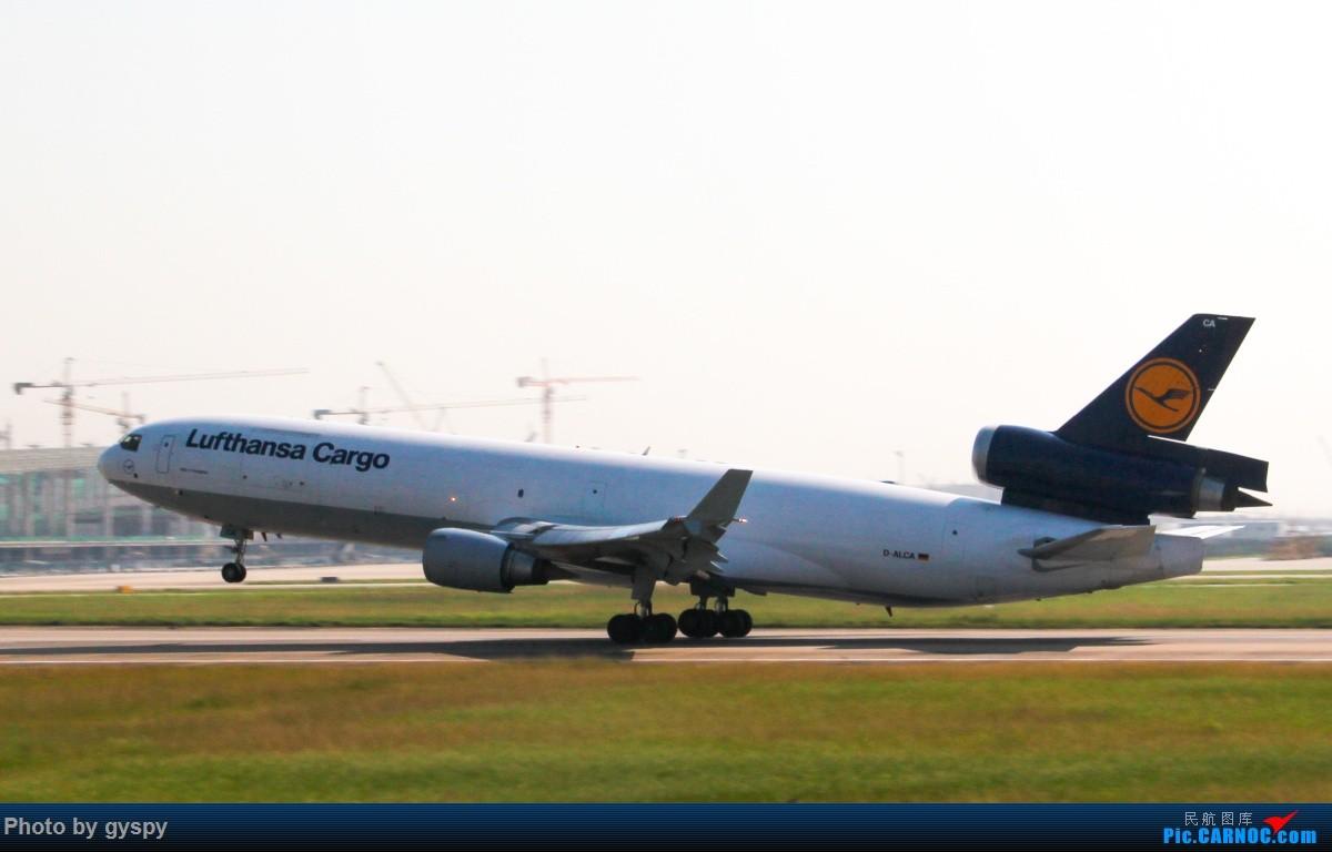 Re:[原创]新人早起白云西跑拍机!抓到汉莎MD11! MD MD-11 D-ALCA 中国广州白云国际机场