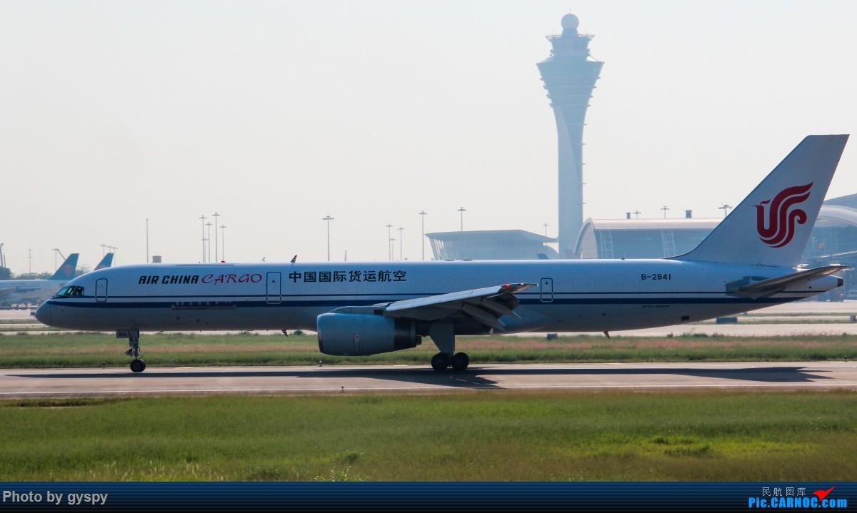 Re:[原创]新人早起白云西跑拍机!抓到汉莎MD11! BOEING 757-200 B-2841 中国广州白云国际机场